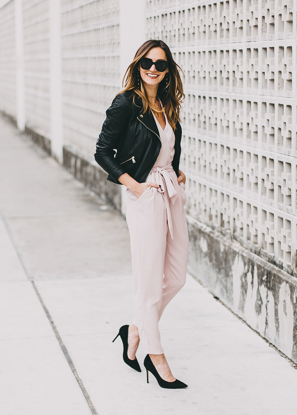 livvyland-river-island-blush-pink-jumpsuit-black-leather-jacket-holiday-party-nye-outfit-inspiration-ideas-4