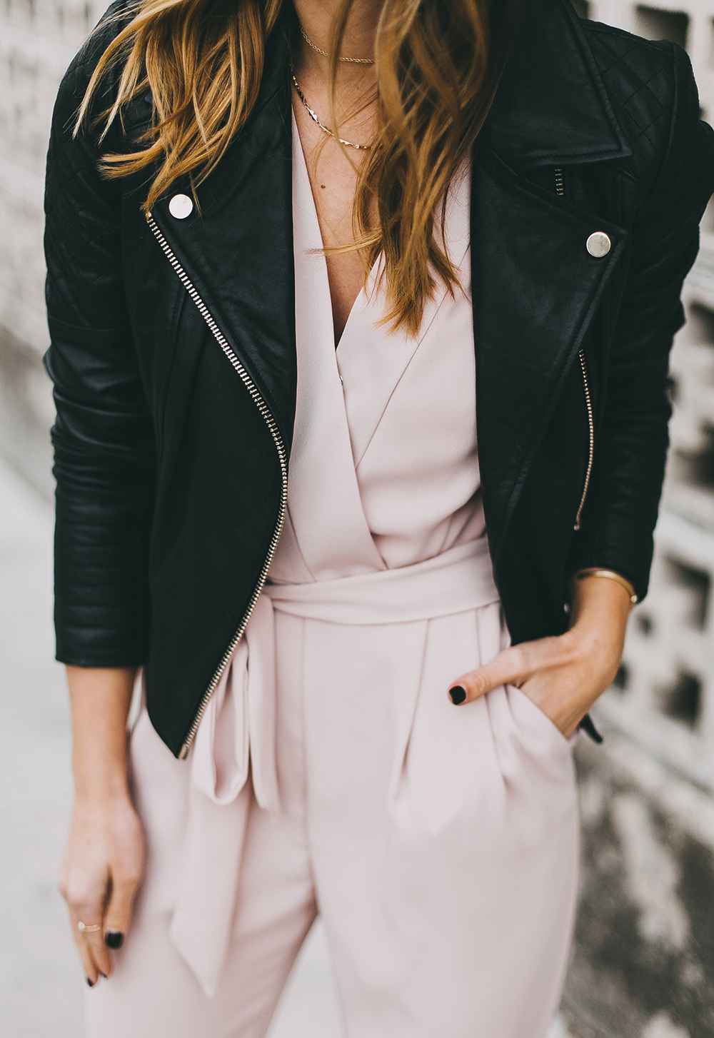 livvyland-river-island-blush-pink-jumpsuit-black-leather-jacket-holiday-party-nye-outfit-inspiration-ideas-6