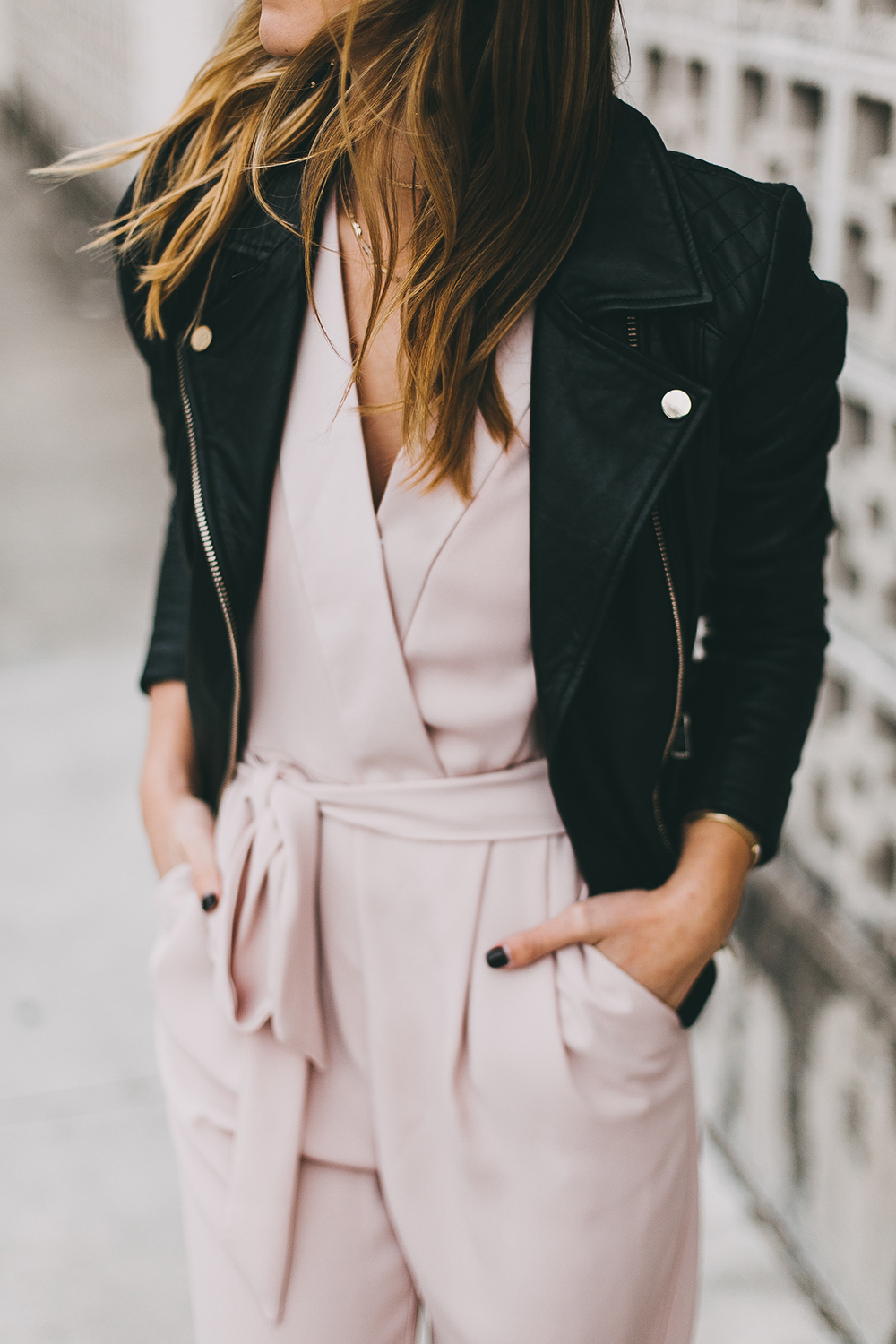 livvyland-river-island-blush-pink-jumpsuit-black-leather-jacket-holiday-party-nye-outfit-inspiration-ideas-8