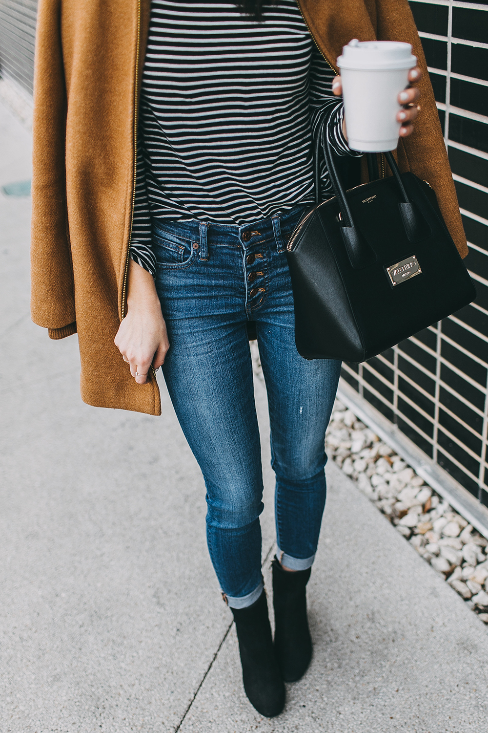 livvyland-blog-olivia-watson-austin-texas-fashion-blogger-j-crew-camel-winter-coat-striped-turtleneck-mid-calf-ankle-booties-3