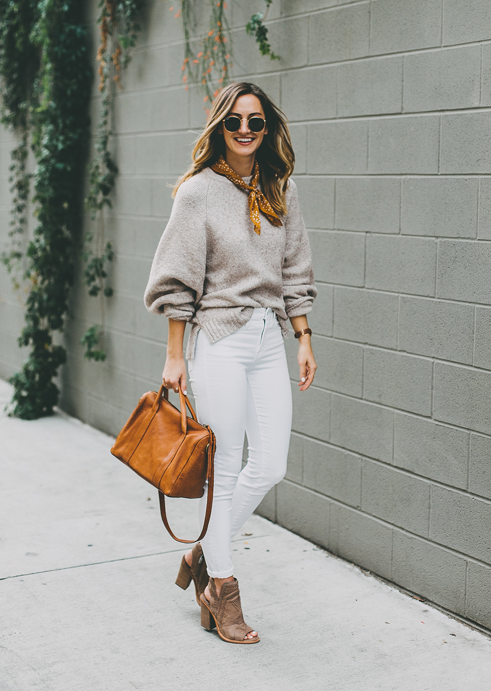 livvyland-blog-olivia-watson-austin-texas-fashion-blogger-mauve-blush-sweater-white-denim-peep-toe-booties-fall-outfit-idea-2
