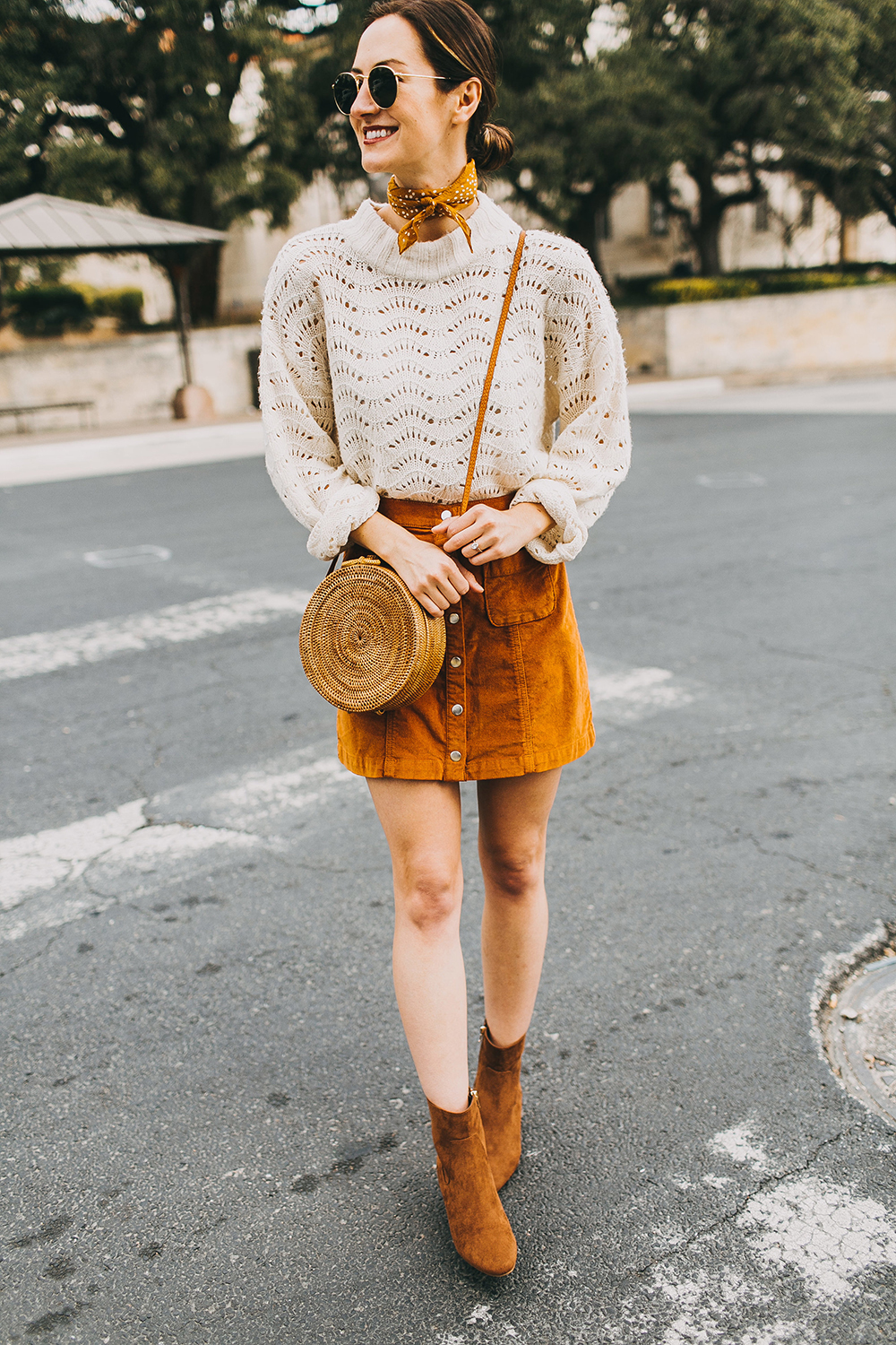 livvyland-blog-olivia-watson-austin-texas-fashion-style-blogger-burnt-orange-corduroy-skirt-bdg-a-line-outfit-3