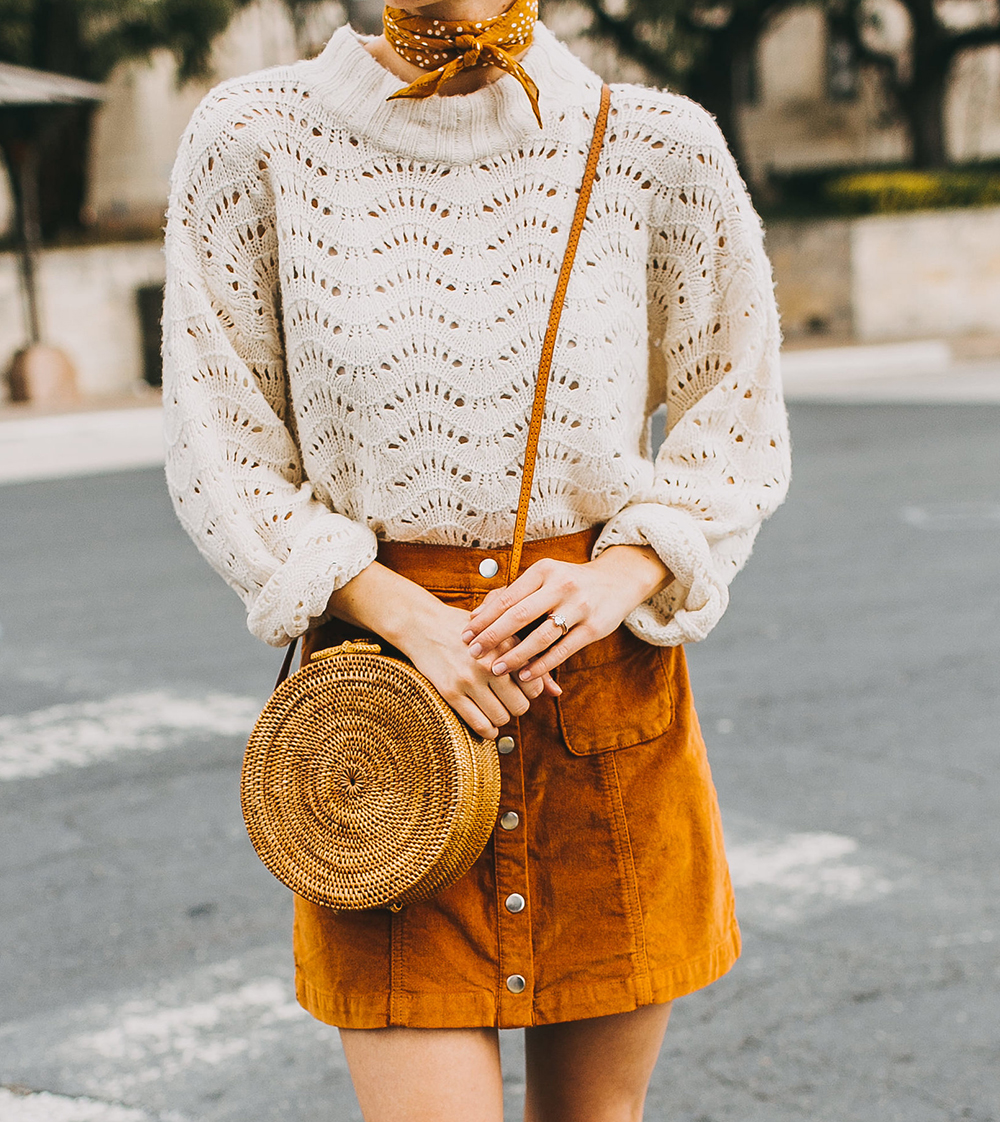livvyland-blog-olivia-watson-austin-texas-fashion-style-blogger-burnt-orange-corduroy-skirt-bdg-a-line-outfit-4