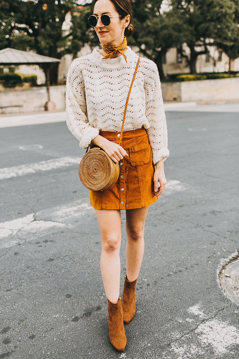 livvyland-blog-olivia-watson-austin-texas-fashion-style-blogger-burnt-orange-corduroy-skirt-bdg-a-line-outfit-5