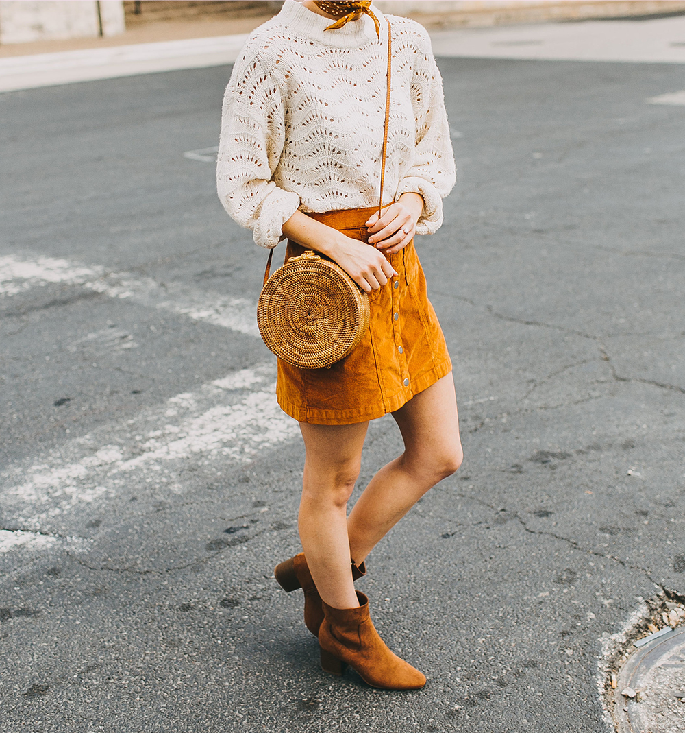 livvyland-blog-olivia-watson-austin-texas-fashion-style-blogger-burnt-orange-corduroy-skirt-bdg-a-line-outfit-6