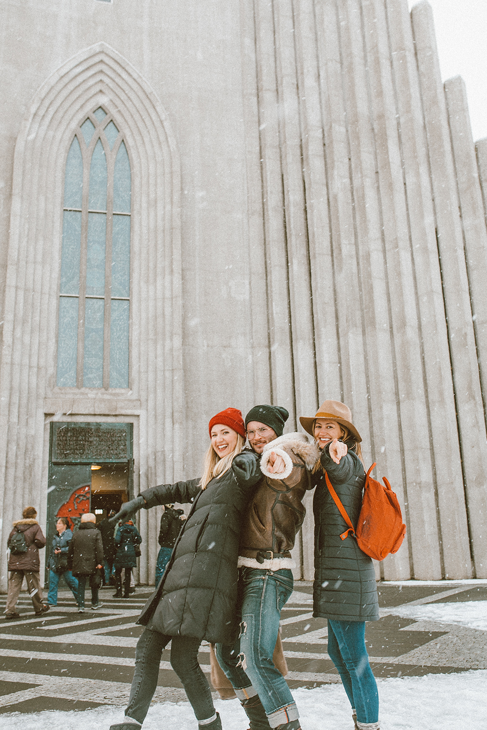 1-livvyland-blog-olivia-watson-travel-lifestyle-blogger-iceland-road-trip-what-to-do-pack-reykjavik-noken-travel-guide-Hallgrimskirkja-church-best-friends-8