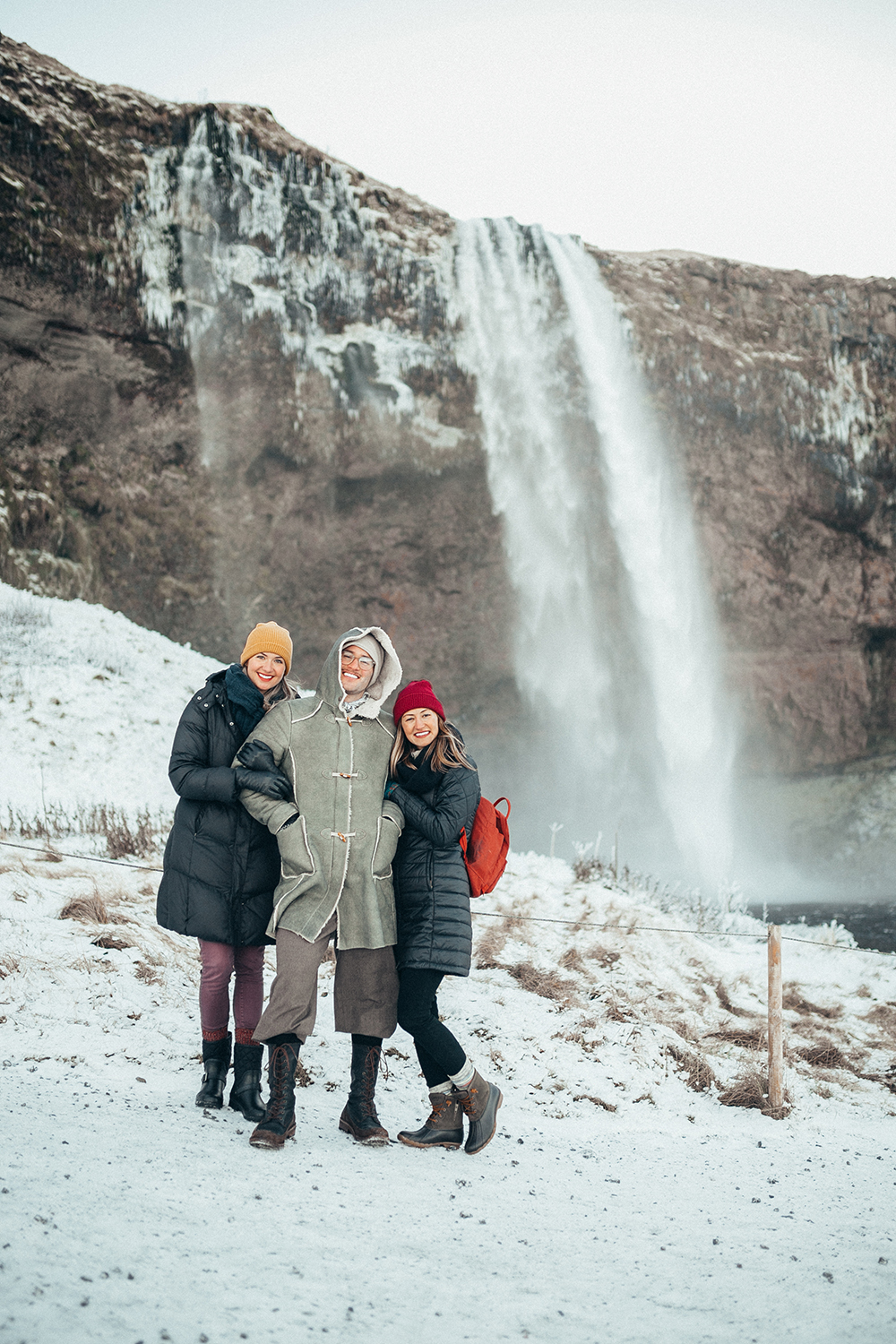 1-livvyland-blog-olivia-watson-travel-lifestyle-blogger-iceland-road-trip-what-to-do-pack-reykjavik-noken-travel-guide-Seljalandsfoss-waterfall-best-friends