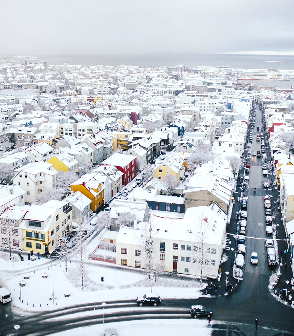 livvyland-blog-olivia-watson-travel-lifestyle-blogger-iceland-road-trip-what-to-do-pack-reykjavik-noken-travel-guide-arial-view-skyline