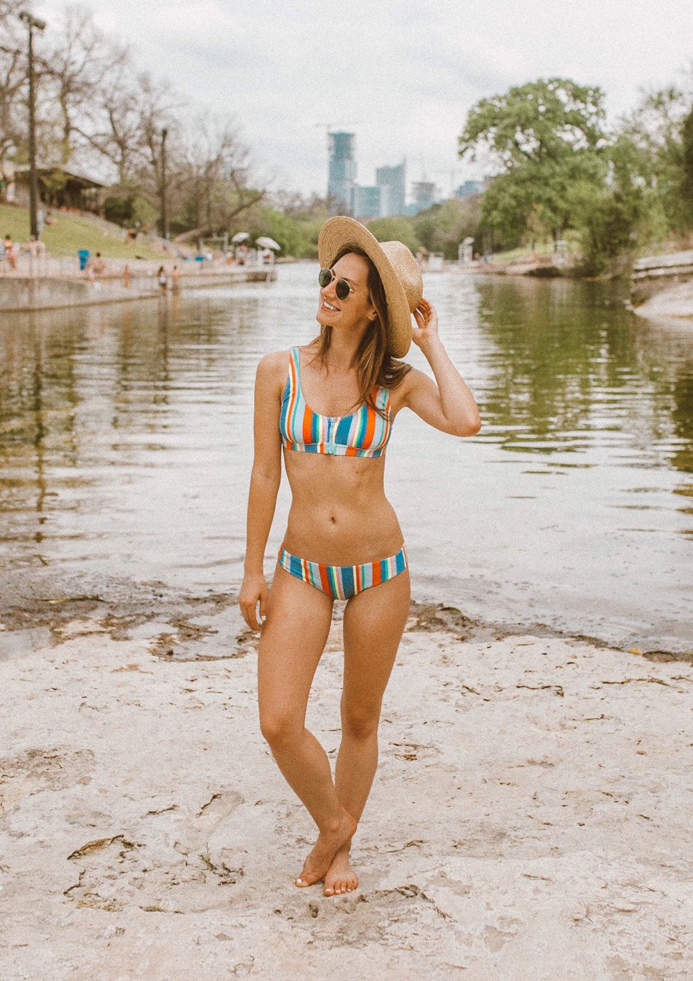 livvyland-blog-olivia-watson-austin-texas-barton-springs-pool-fashion-blogger-billabong-rainbow-swimsuit-10