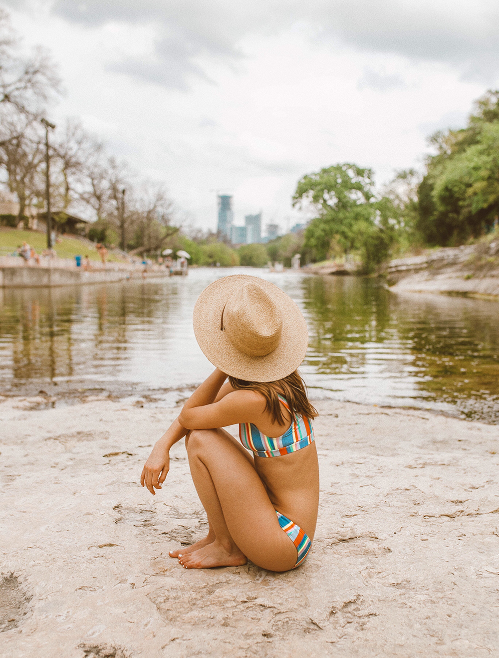 livvyland-blog-olivia-watson-austin-texas-barton-springs-pool-fashion-blogger-billabong-rainbow-swimsuit-8