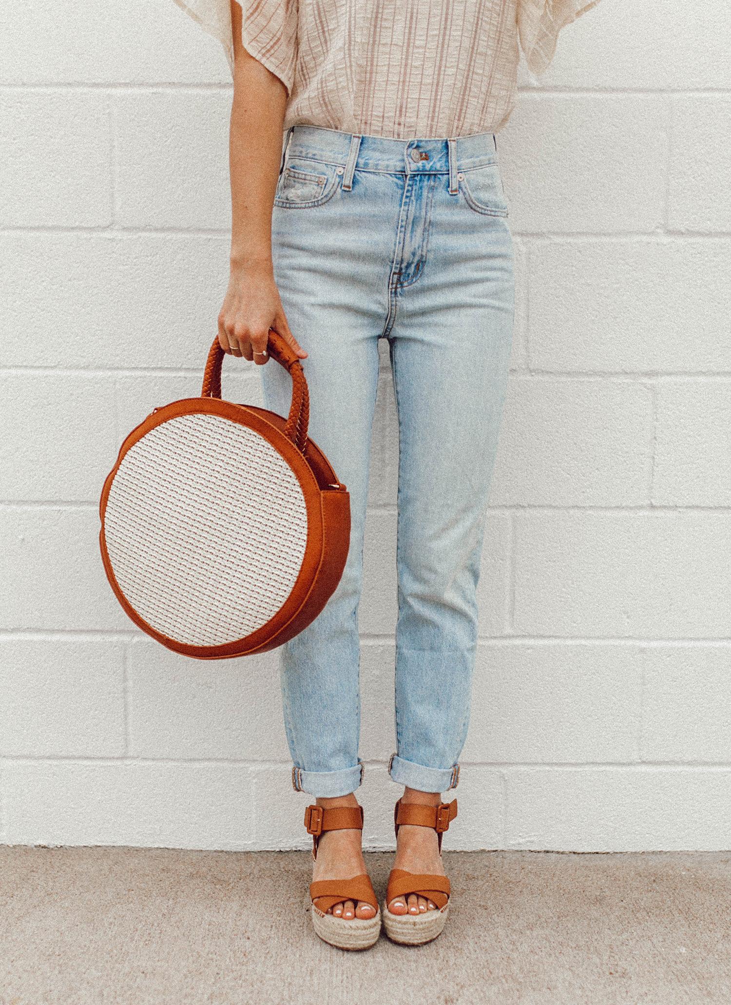 livvyland-blog-olivia-watson-sole-society-espadrille-wedges-round-straw-handbag-7
