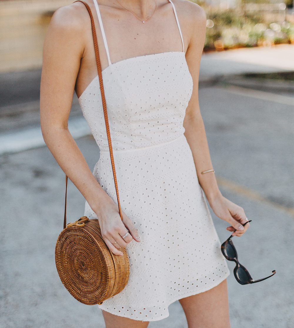 livvyland-blog-olivia-watson-urban-outfitters-eyelet-open-back-dress-madewell-hair-bandana-scarf-spring-date-outfit-6