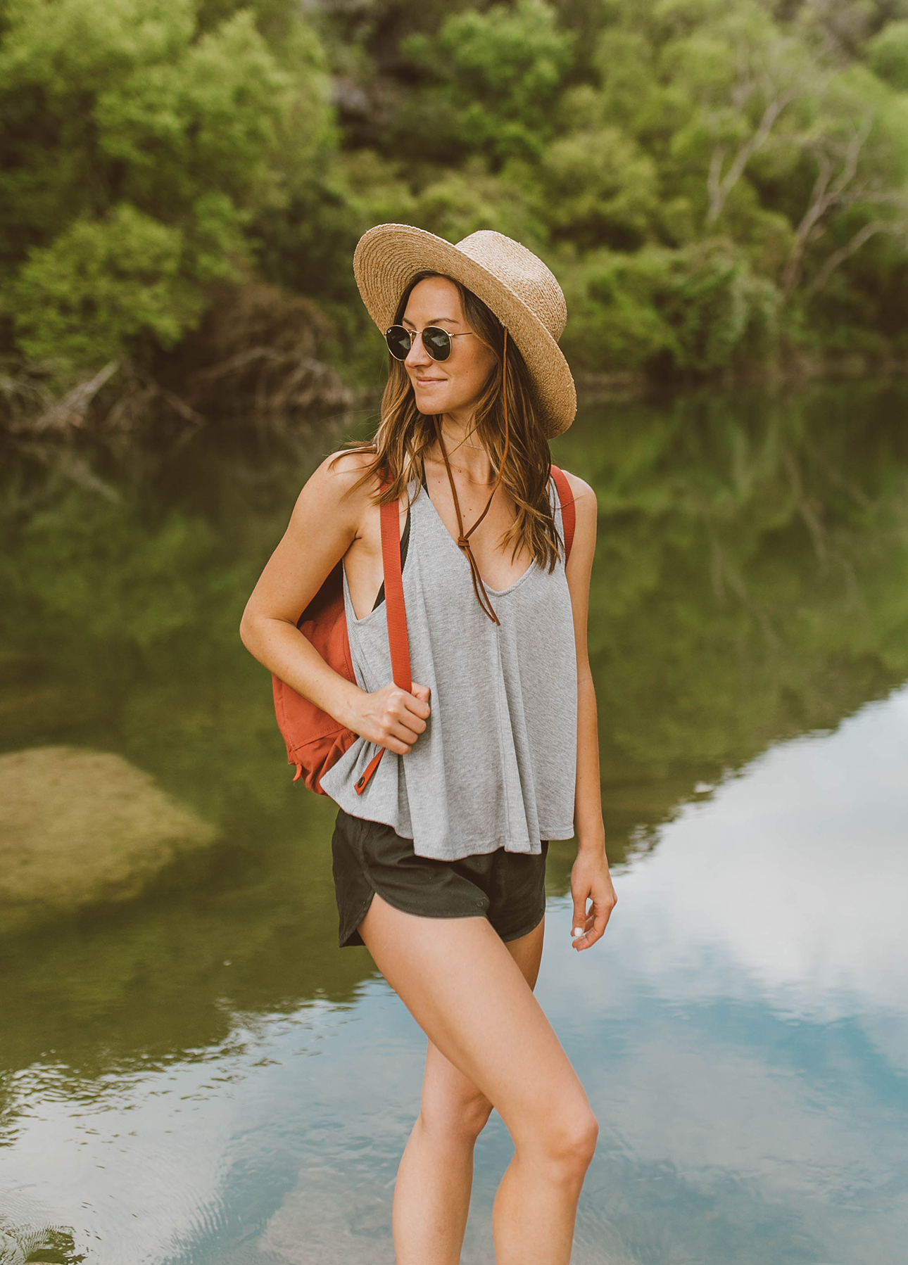 livvyland-blog-olivia-watson-backcountry-l-space-black-one-piece-swimsuit-austin-texas-greenbelt-15