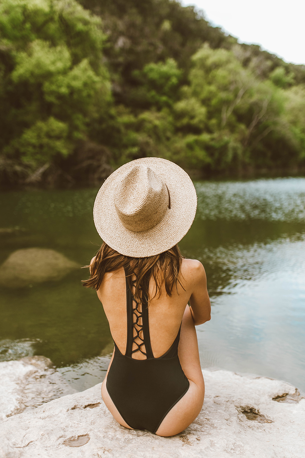 livvyland-blog-olivia-watson-backcountry-l-space-black-one-piece-swimsuit-austin-texas-greenbelt-2