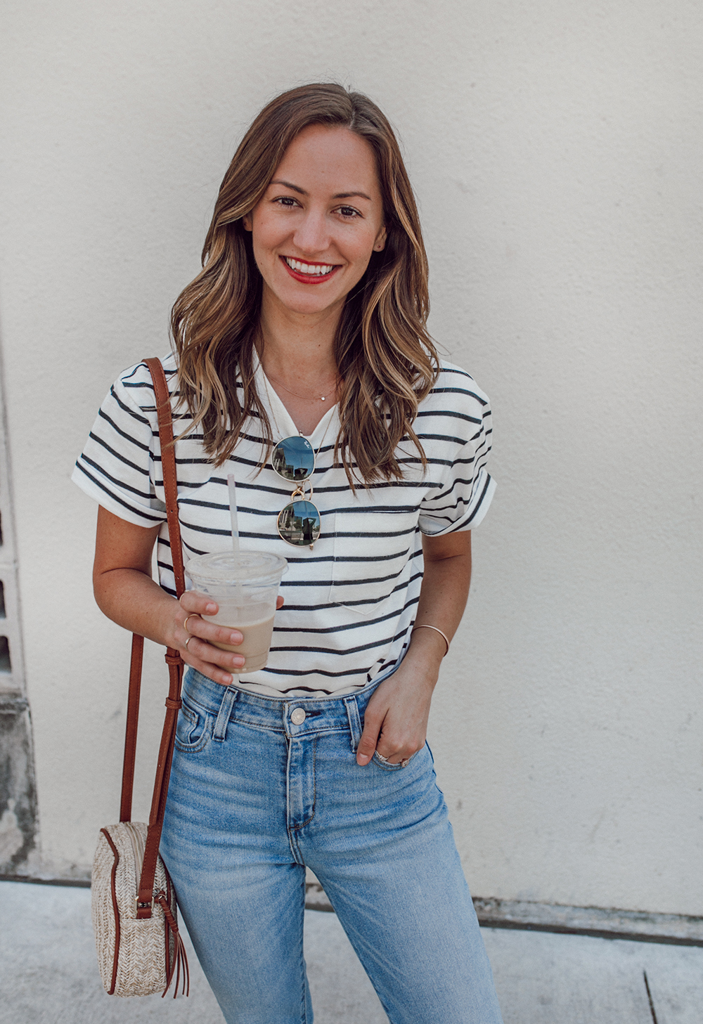livvyland-blog-olivia-watson-sole-society-red-sandal-flats-spring-summer-outfit-idea-style-austin-texas-fashion-blogger-striped-shirt-1