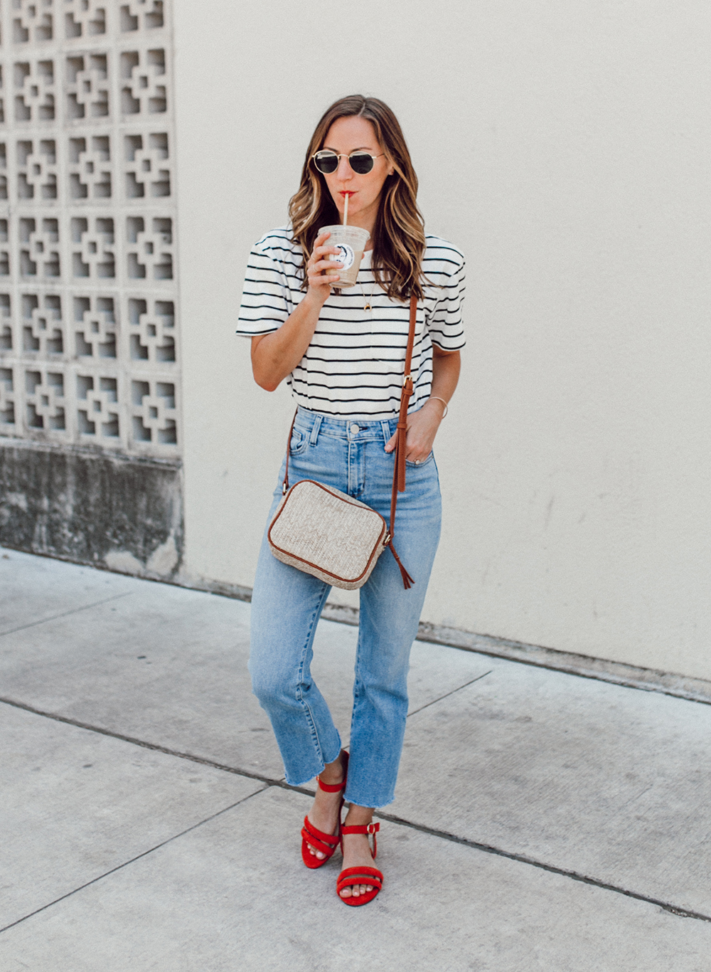 livvyland-blog-olivia-watson-sole-society-red-sandal-flats-spring-summer-outfit-idea-style-austin-texas-fashion-blogger-striped-shirt-10