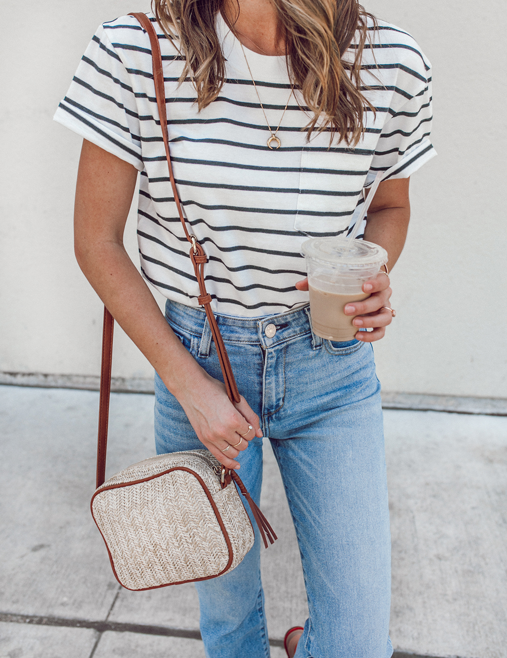 livvyland-blog-olivia-watson-sole-society-red-sandal-flats-spring-summer-outfit-idea-style-austin-texas-fashion-blogger-striped-shirt-2