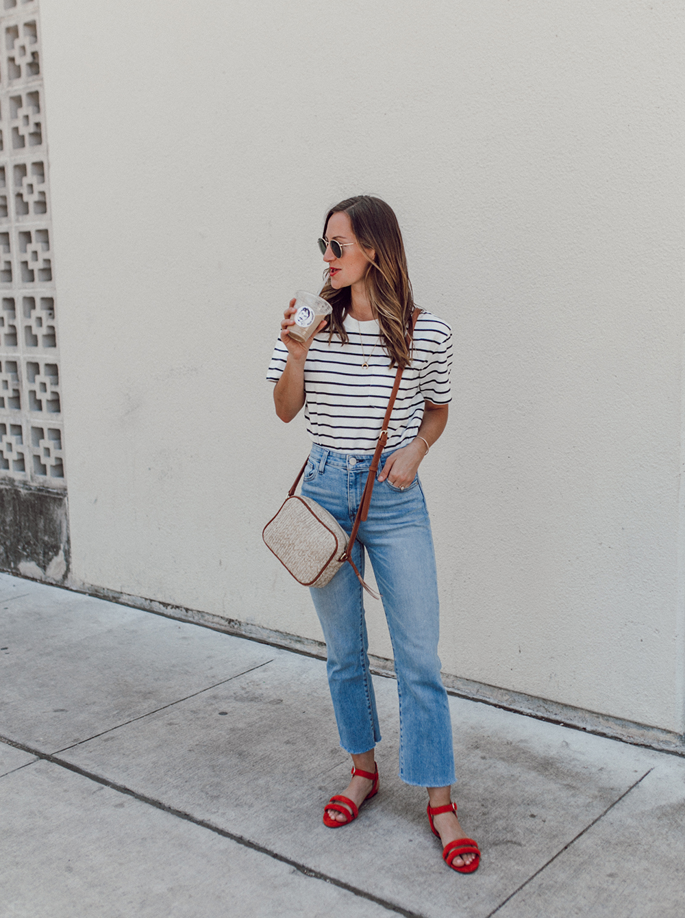 livvyland-blog-olivia-watson-sole-society-red-sandal-flats-spring-summer-outfit-idea-style-austin-texas-fashion-blogger-striped-shirt-4