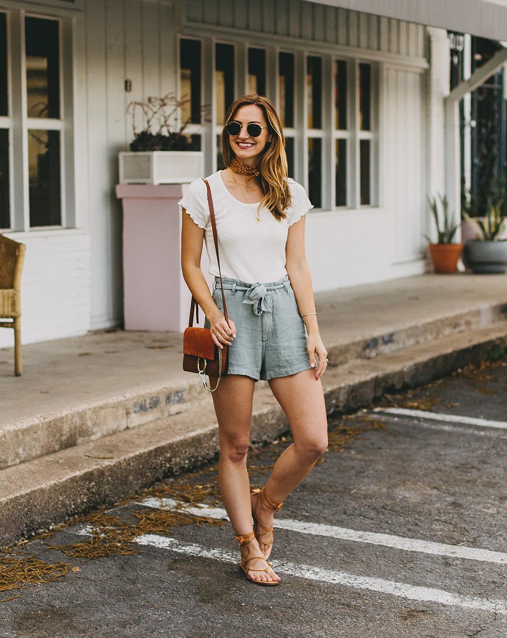 livvyland-blog-olivia-watson-austin-texas-style-blogger-abercrombie-linen-high-waist-tie-shorts-1