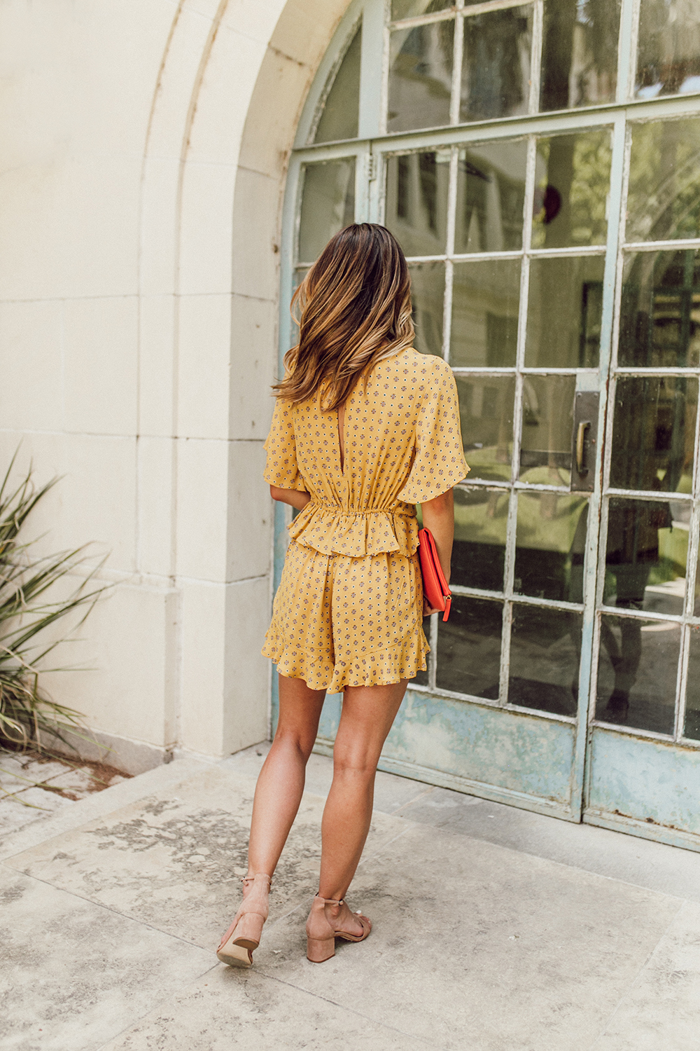 livvyland-blog-olivia-watson-austin-texas-fashion-lifestyle-blogger-river-island-floral-print-yellow-knot-front-romper-summer-occasion-outfit-idea-7