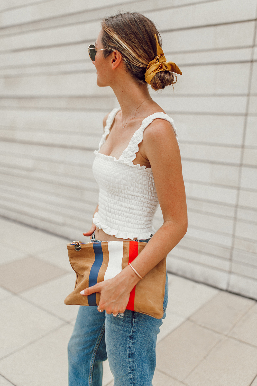 livvyland-blog-olivia-watson-austin-texas-fashion-style-blogger-reformation-tank-top-girlfriend-high-rise-jeans-hair-scarf-summer-outfit-2