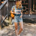 livvyland-blog-olivia-watson-austin-texas-fashion-style-urban-outfitters-striped-vintage-tee-levis-denim-wedgie-shorts-madewell-mini-leather-backpack-8