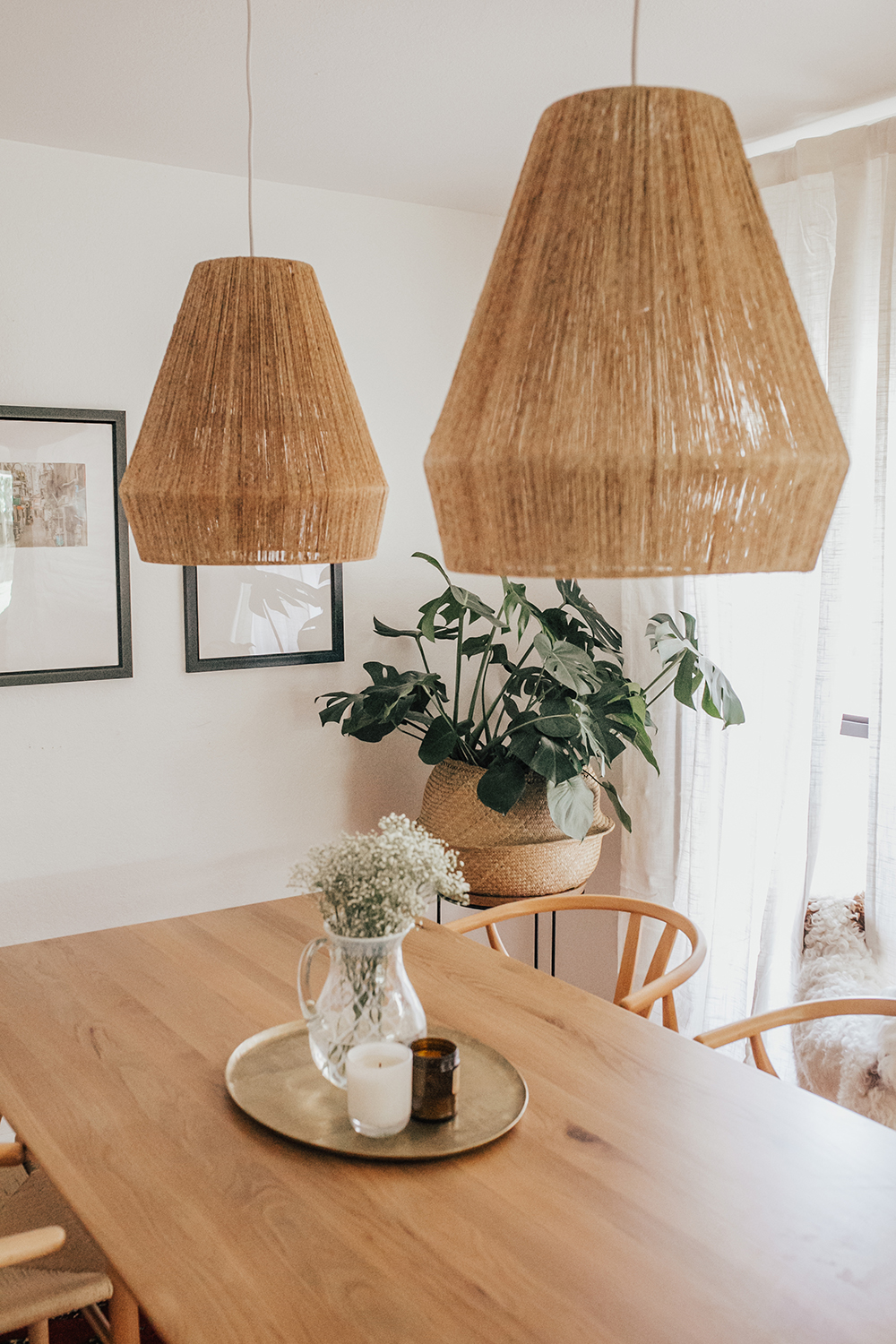 livvyland-blog-olivia-watson-austin-texas-lifestyle-blogger-modern-bohemian-bungalow-dining-room-kitchen-anthropologie-light-fixtures
