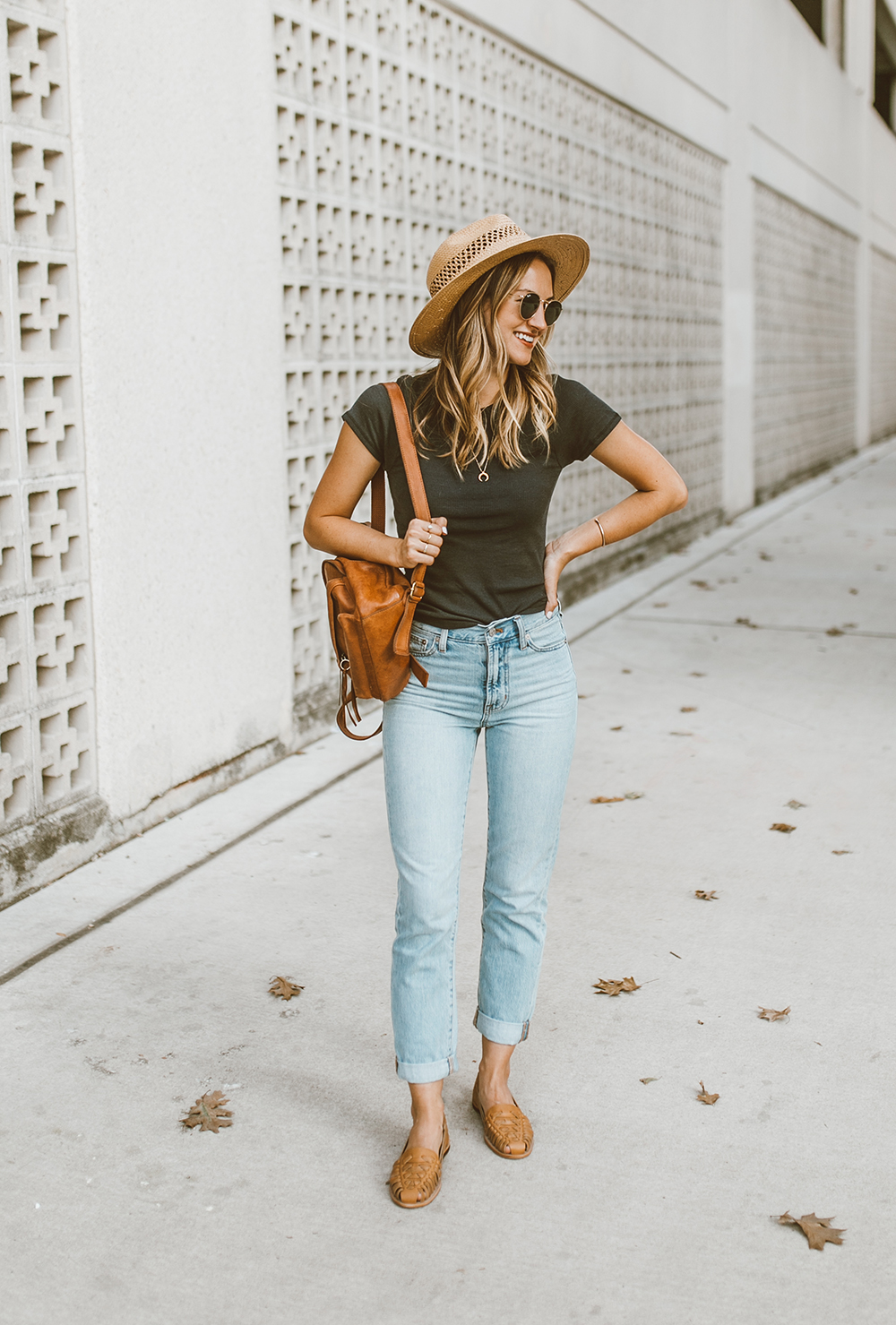 livvyland-blog-olivia-watson-austin-texas-fashion-style-blog-nisolo-ecuador-huarche-sandals-almond-tee-jeans-outfit-1