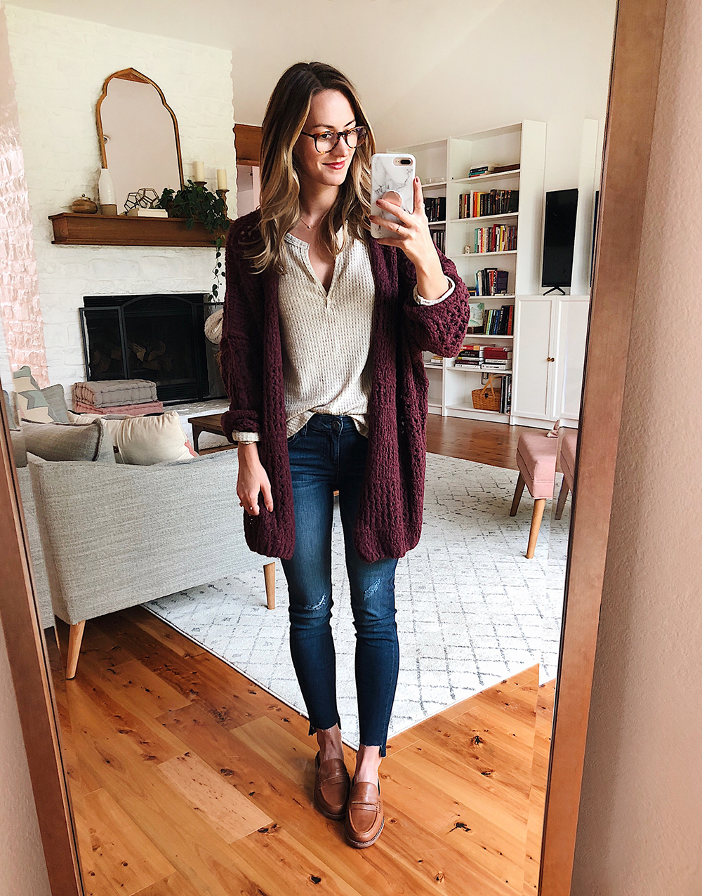 livvyland blog olivia watson austin texas fashion style blogger free people saturday morning cardigan nordstrom anniversary sale outfit 1 - Nsale Attempt On Haul