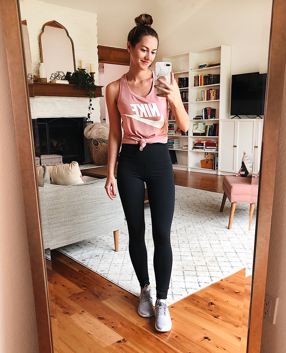 livvyland blog olivia watson austin texas fashion style blogger nordstrom anniversary sale outfit best of nike tank top zella high rise live in leggings - Nsale Attempt On Haul