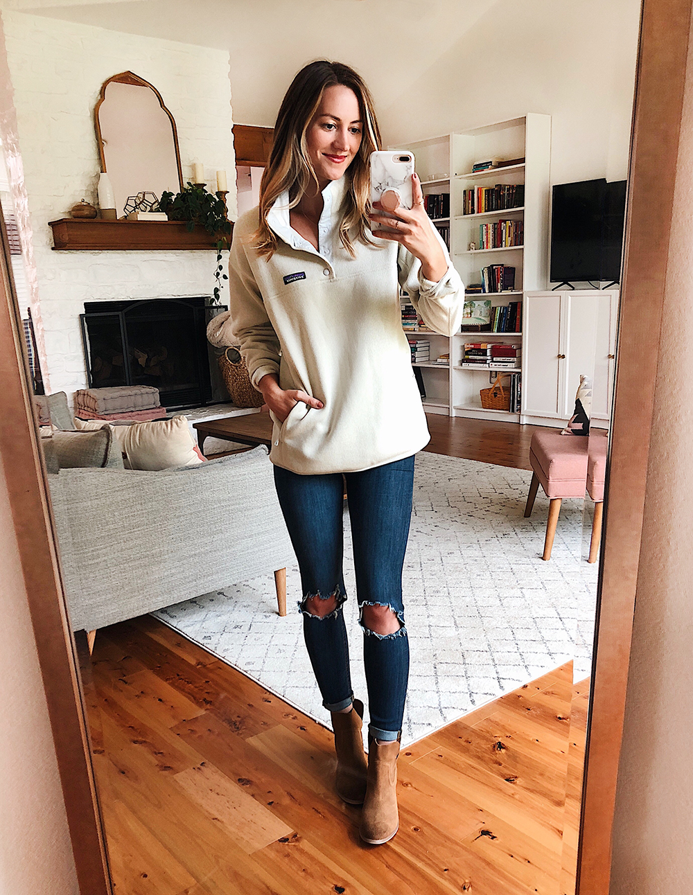 livvyland blog olivia watson austin texas fashion style blogger nordstrom anniversary sale outfit best of patagonia fleece better sweater - Nsale Attempt On Haul