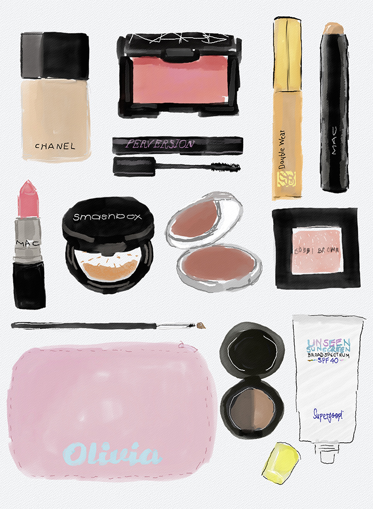 summer-makeup-illustratoin-livvyland-blog-olivia-watson
