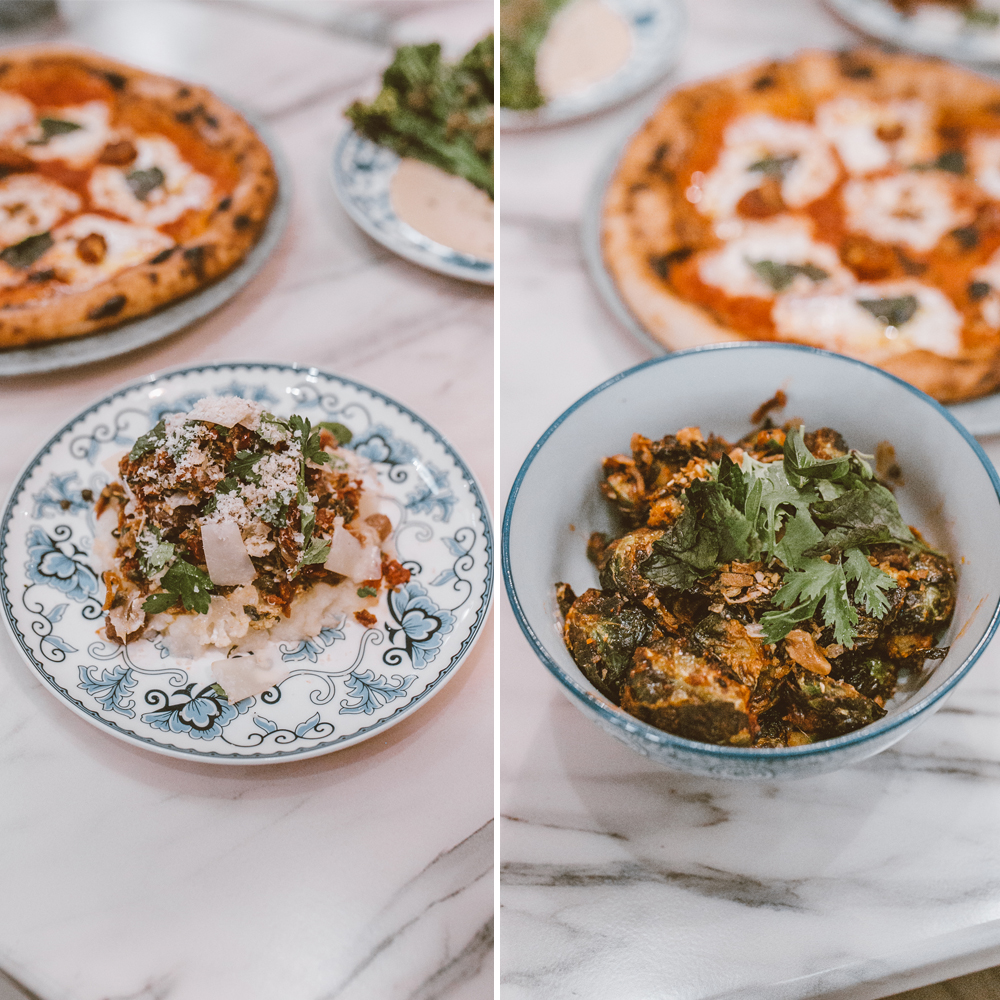 livvyland-blog-olivia-watson-austin-texas-lifestyle-blogger-fairmont-hotel-atx-downtown-cocktail-revue-restaurant-brussel-sprouts