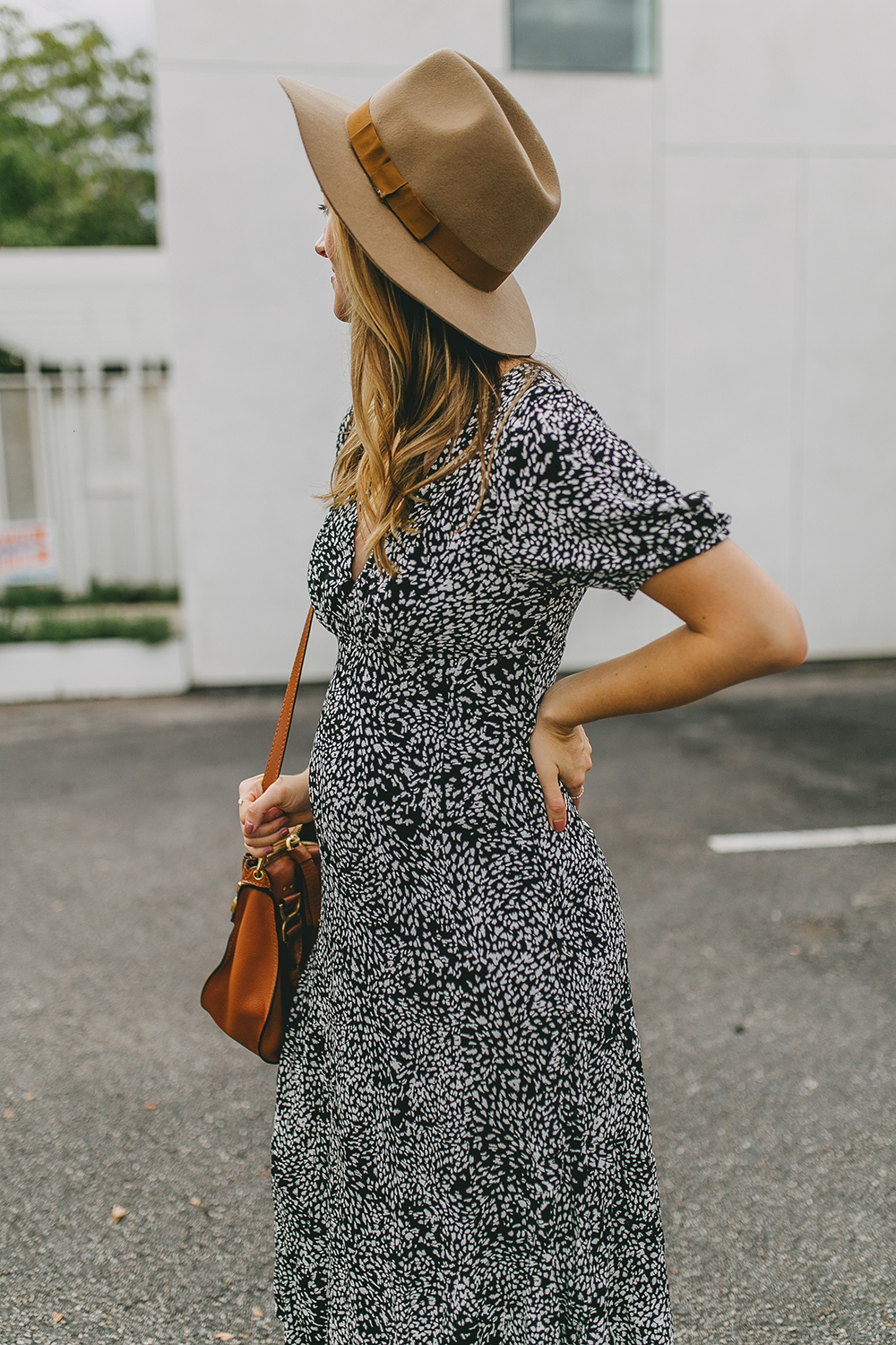 livvyland-blog-olivia-watson-free-peopl-looking-for-love-midi-dress-fedora-hat-outfit-chloe-medium-marcie-handbag-1