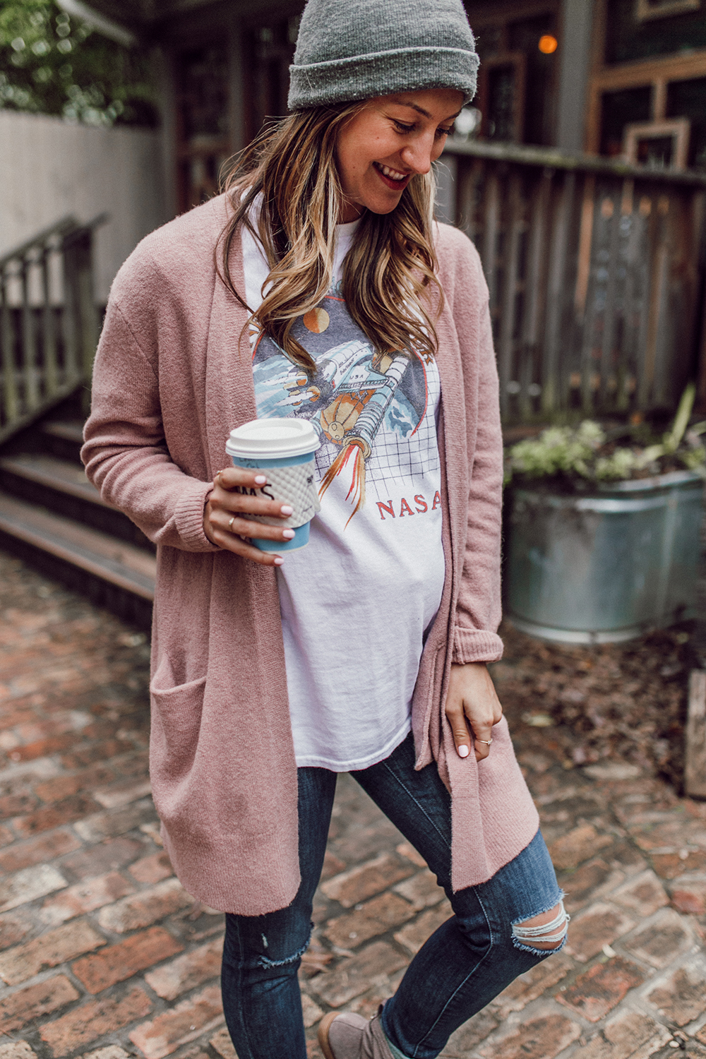 livvyland-blog-olivia-watson-austin-texas-fashion-lifestyle-blogger-koolaburra-lorelei-flat-ankle-booties-taupe-4