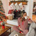 livvyland-blog-olivia-watson-austin-texas-fashion-lifestyle-blogger-maternity-christmas-holiday-striped-pajamas-jockey-8