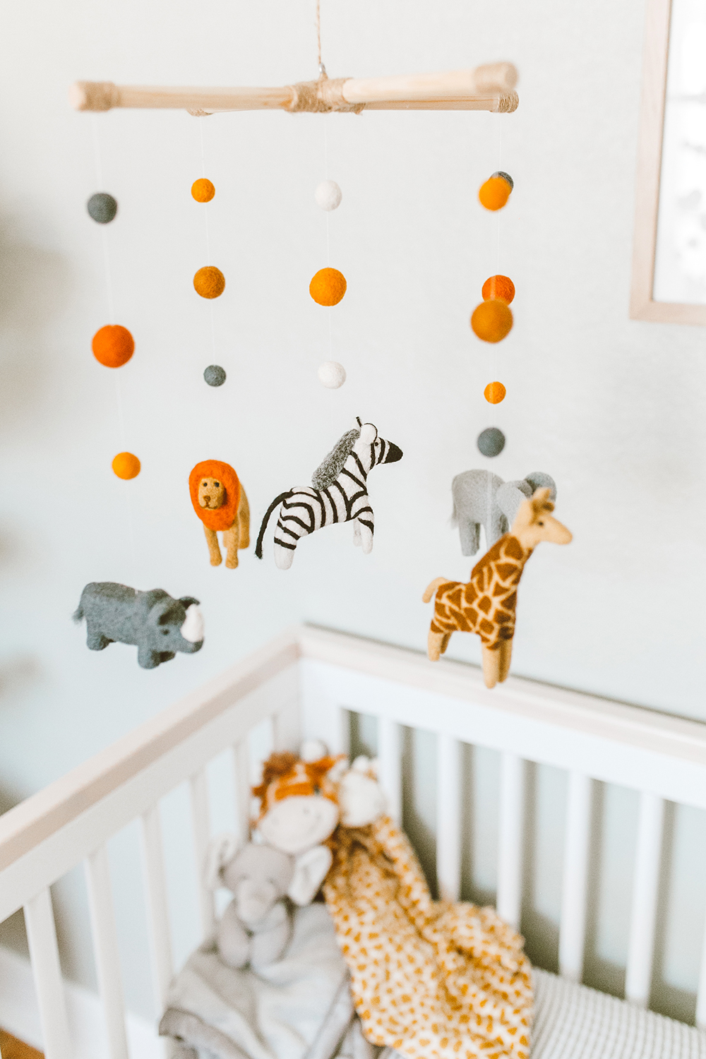 livvyland-blog-olivia-watson-baby-boy-gender-neutral-safari-nursery-theme-tour-reveal-earth-tones-animal-mobile