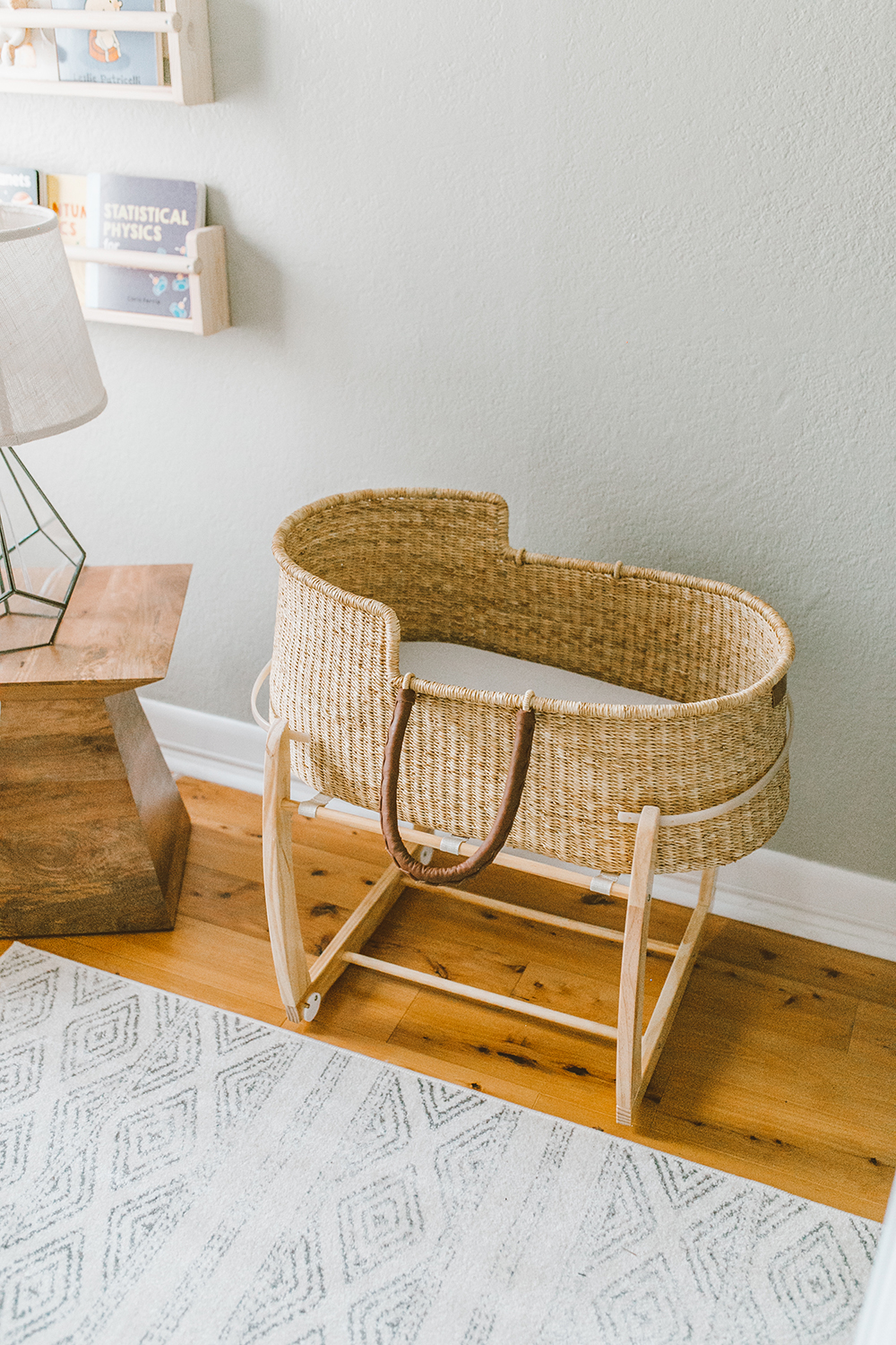 livvyland-blog-olivia-watson-baby-boy-gender-neutral-safari-nursery-theme-tour-reveal-earth-tones-love-dua-woven-bassinet
