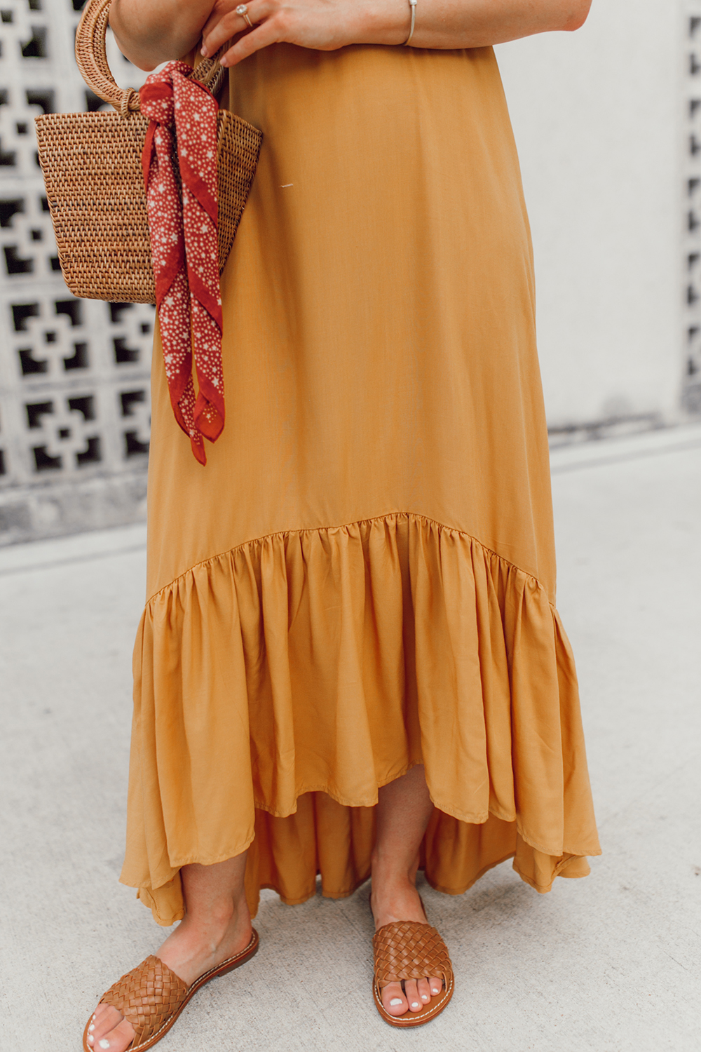 livvyland-blog-olivia-watson-mustard-canary-yellow-maxi-dress-love-sadie-summer-date-night-outfit-4