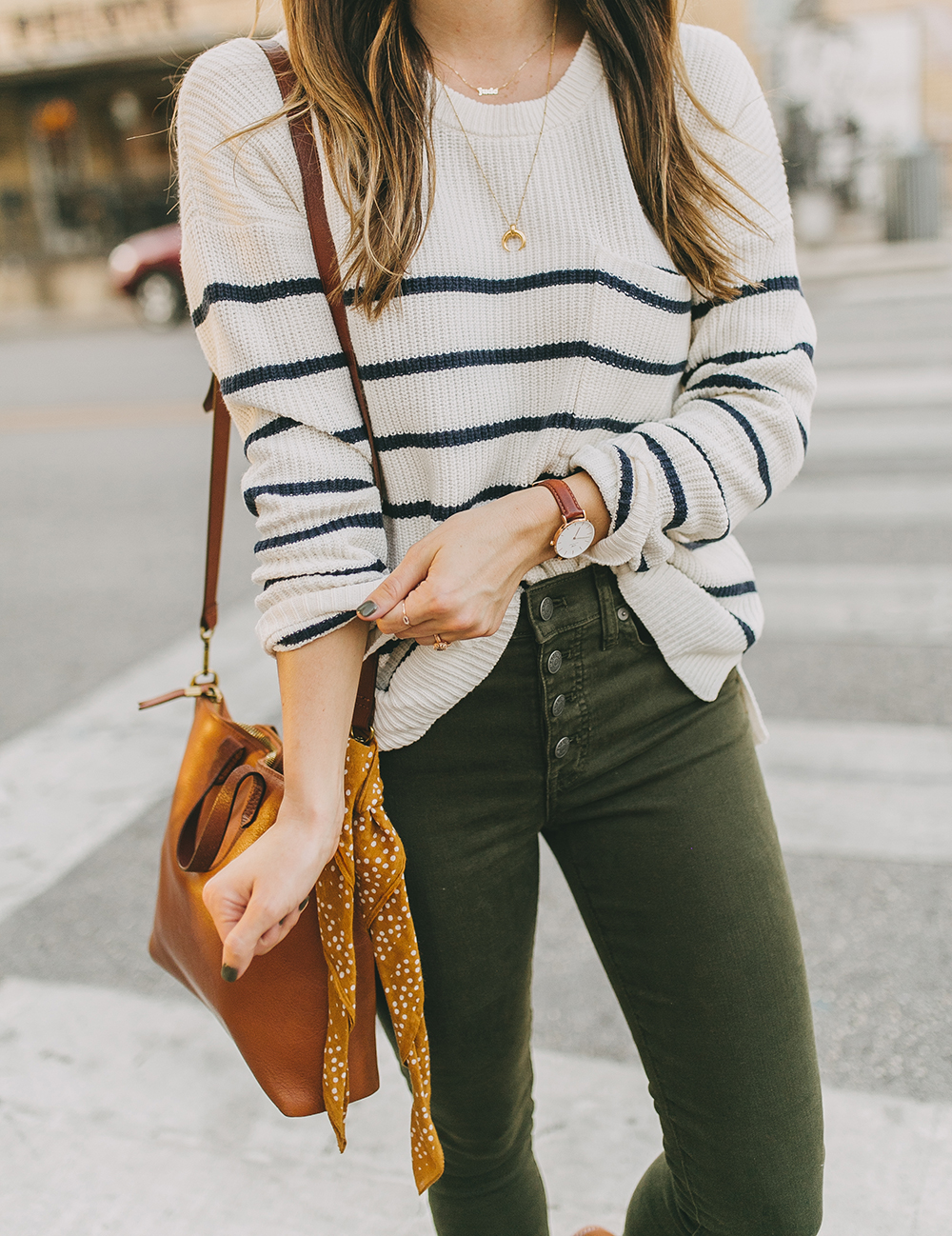 livvyland-blog-olivia-watson-austin-texas-fashion-lifestyle-blogger-madewell-olive-skinny-jeans-striped-sweater-trunk-club-review-3
