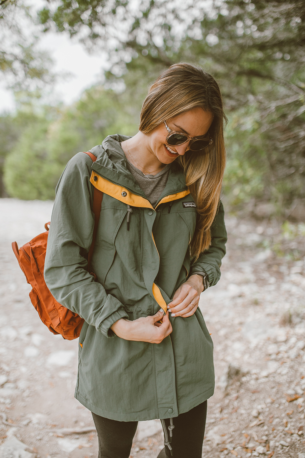livvyland-blog-olivia-watson-austin-texas-greenbelt-hike-nature-walk-patagonia-skyforest-green-parka-3