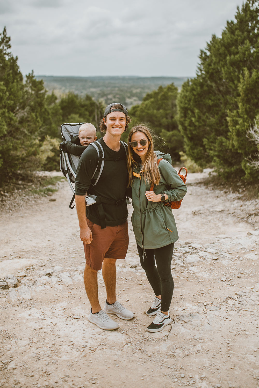 livvyland-blog-olivia-watson-austin-texas-greenbelt-hike-nature-walk-vans-ultrarange-baby-backpack-5