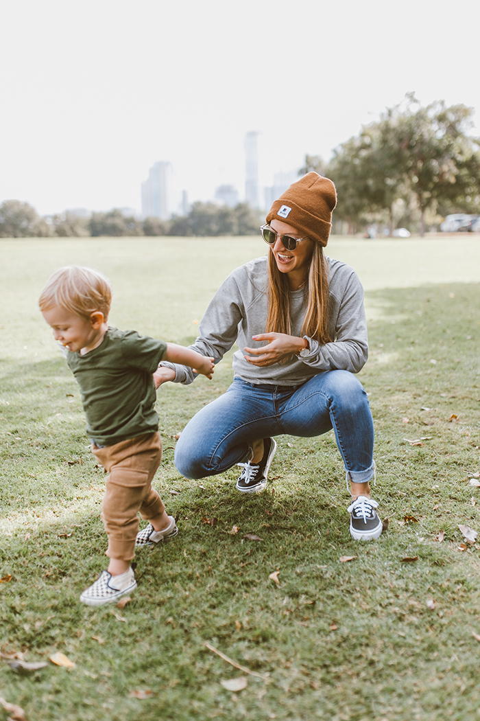 livvyland-blog-olivia-watson-austin-texas-zilker-park-fall-lifestyle-blogger-fashion-boy-mom-matching-outfits