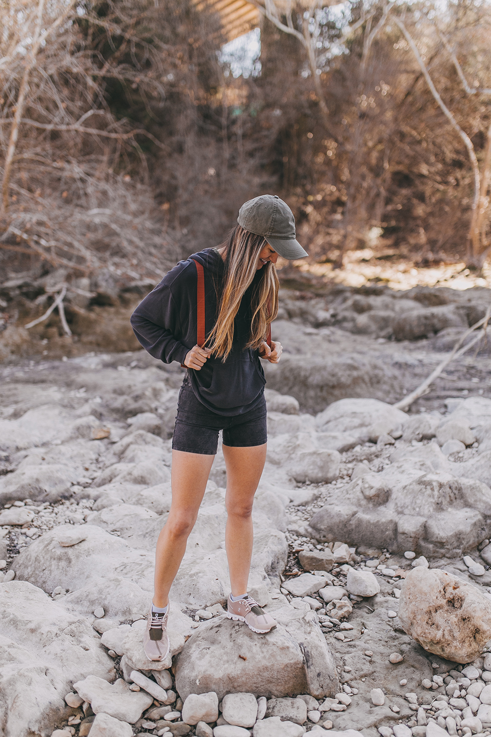 livvyland-blog-olivia-watson-austin-texas-lifestyle-fashion-blogger-greenbelt-hike-free-people-fp-movement-hot-shot-bike-shorts-outfit-2