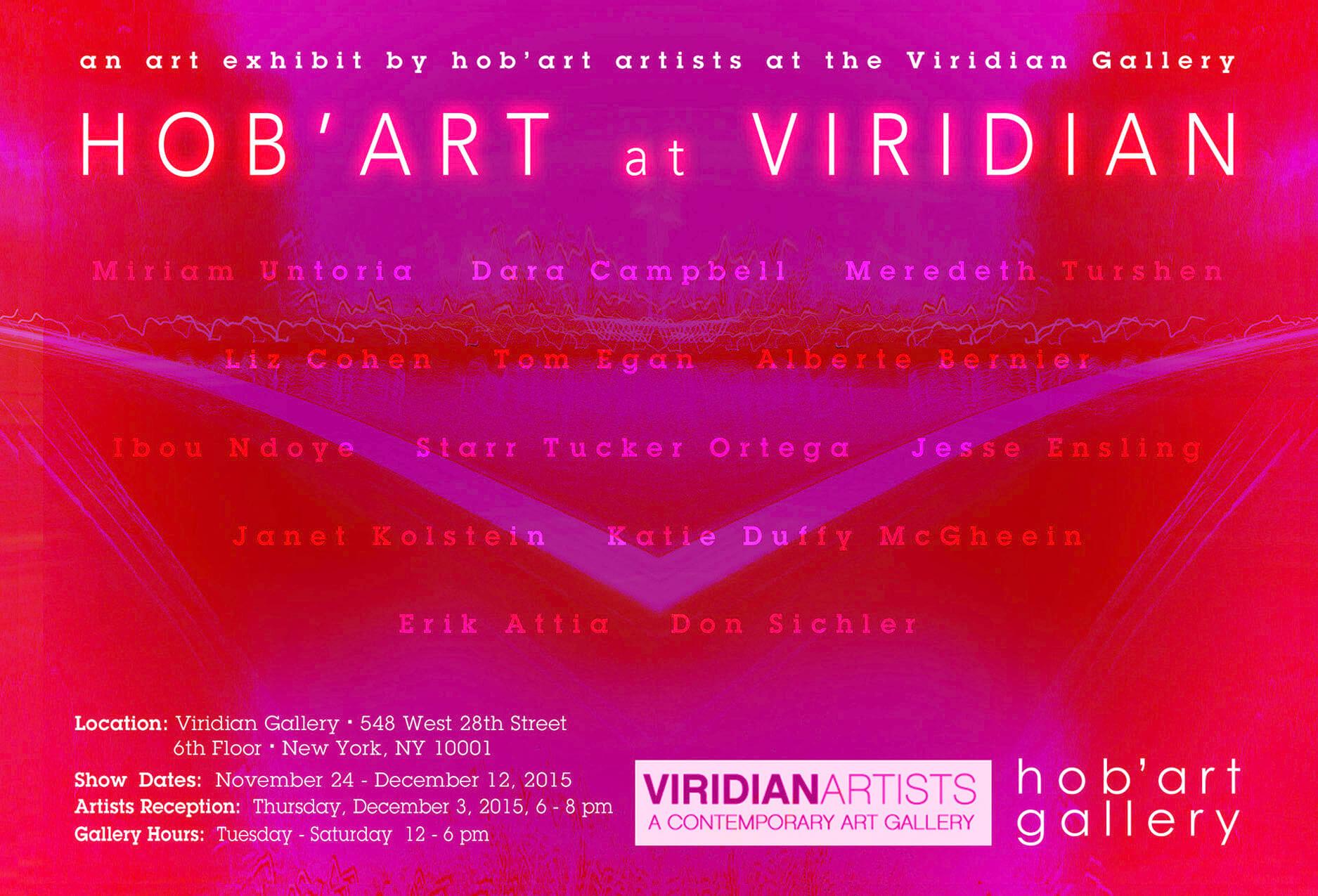 hob'art @ VIRIDIAN Exhibit – Hob'Art Artists