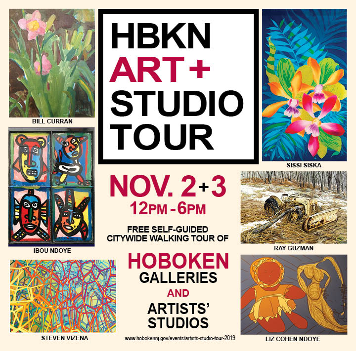 HOBOKEN ARTISTS STUDIO TOUR 2019