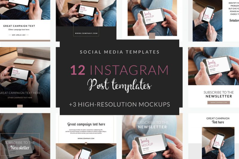 Mockup templates for designers and digital marketers - Lovely Mockups