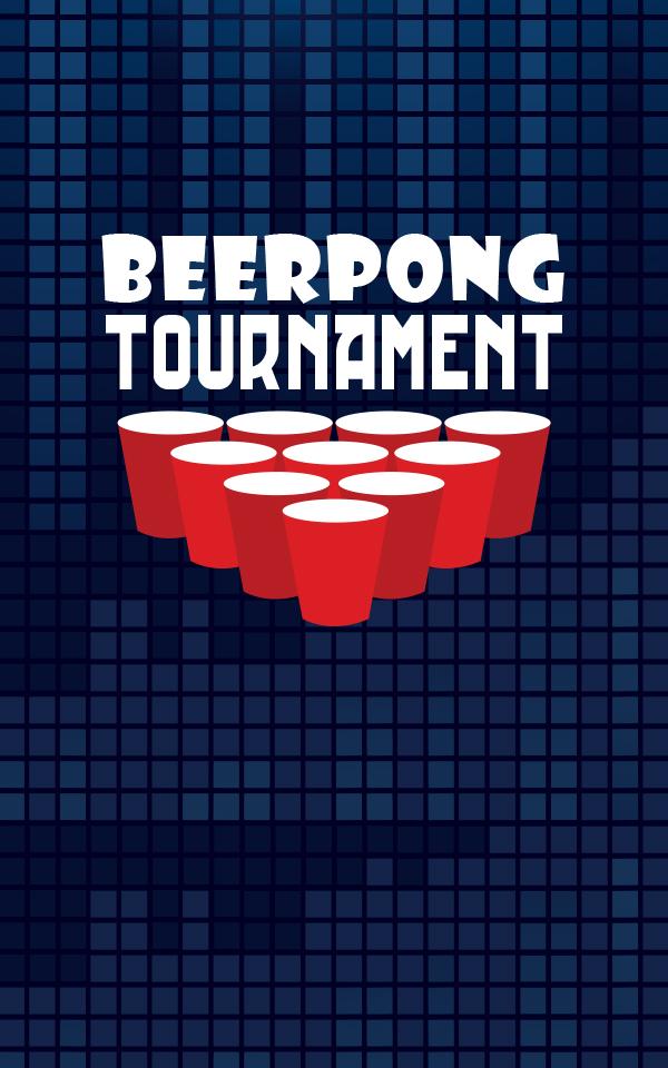 Weekly beerpong tournament