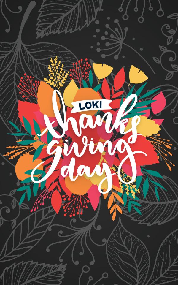 Thanksgiving 2019!!