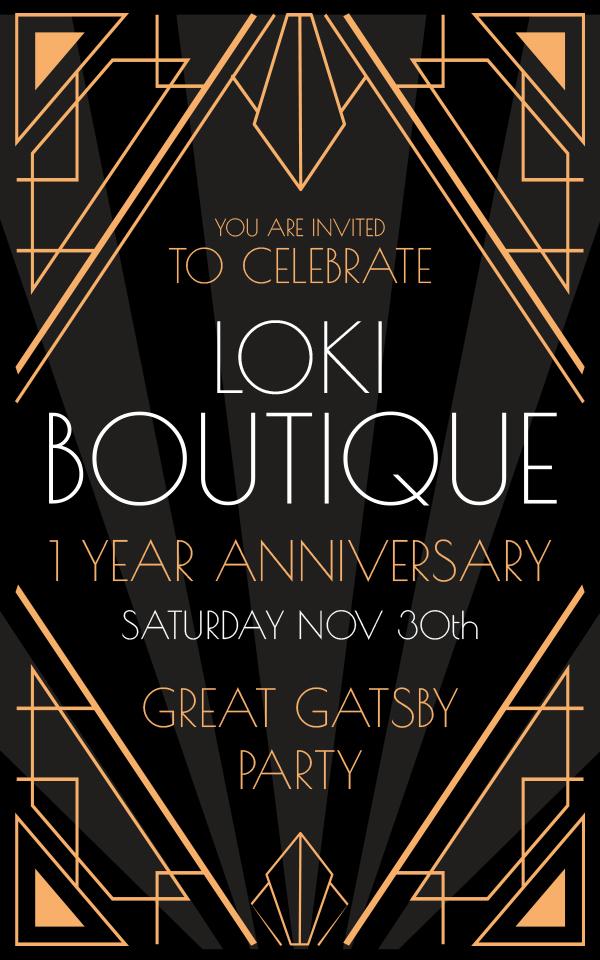 Loki Boutique's 1 anniversary!